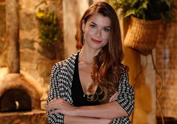 A atriz Alinne Moraes (Foto divulgação)