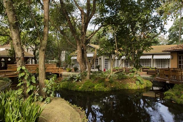Casa no Projac onde será feito o 'É De Casa' (Foto: Globo/Tata Barreto)