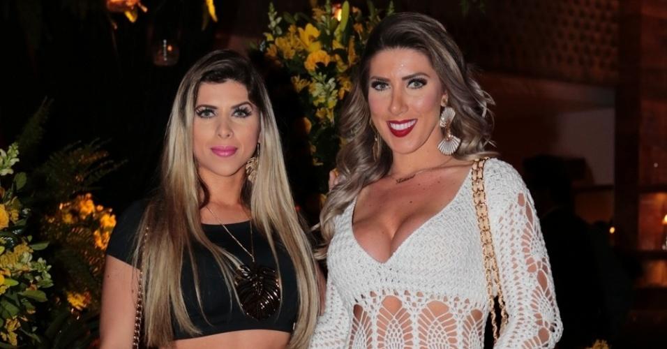 As irmãs Ana Paula e Tati Minerato  Rafael (Cusato/Photo Rio News)