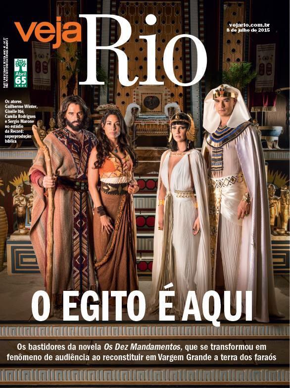 Capa da Veja Rio (Foto: Divulgação)