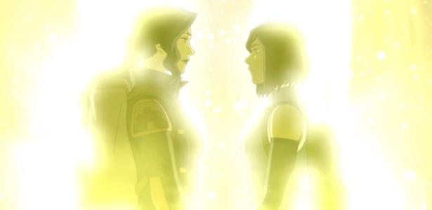 """""""Avatar: A Lenda de Korra"""" sugere romance lésbico. (Foto: Divulgação)"""