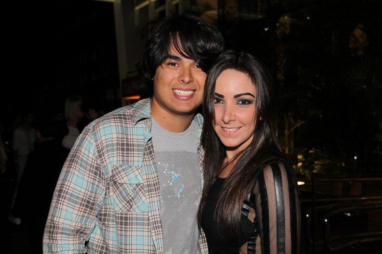 Igor Godoi e sua noiva (Foto: Divulgação)