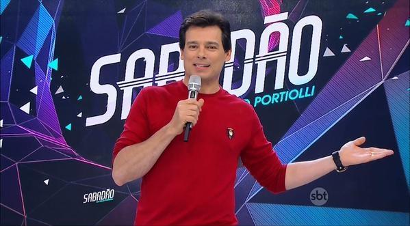 """""""Sabadão"""" vence a Record (Foto: Reprodução/ SBT)"""