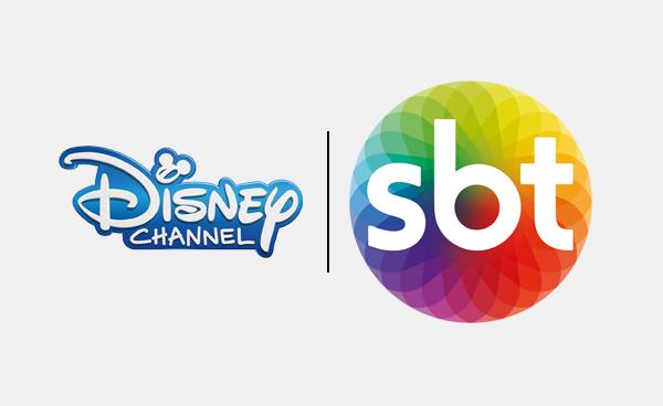 Logo da Disney e SBT (Foto: Divulgação)