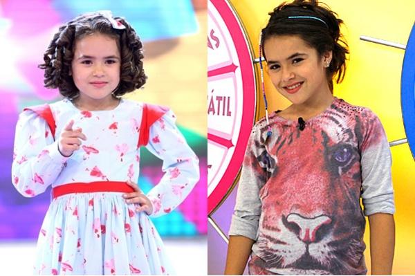 Maísa Silva teve duas passagens pelo infantil (Foto: Montagem/TV Foco)