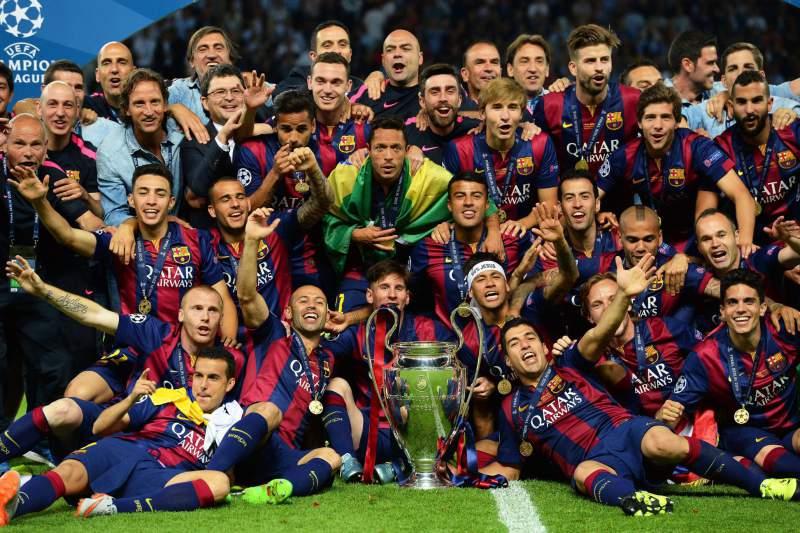 """Barcelona é o atual campeão da """"Liga"""". (Foto: Divulgação)"""