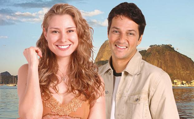 Protagonistas da novela Prova de Amor (Foto: Divulgação)