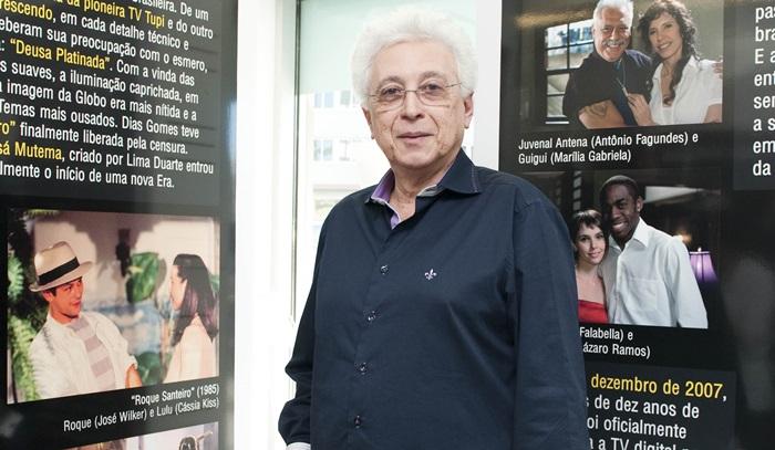 Aguinaldo Silva (Foto: Globo/Divulgação)