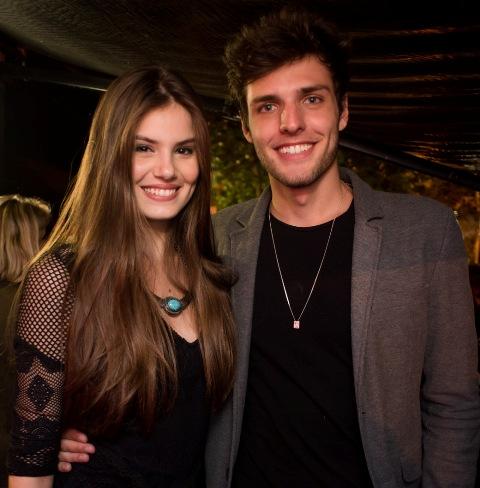 Lucas Cattani e Camila se conheceram nas passarelas (Foto: Divulgação)