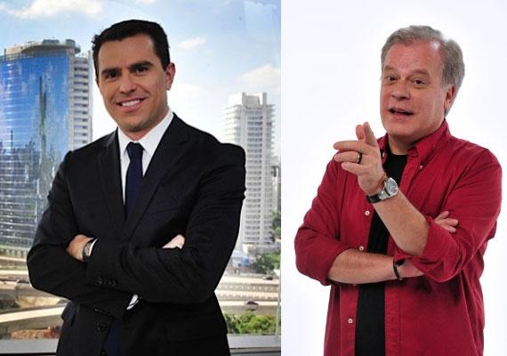 Rodrigo Bocardi e Chico Pinheiro (Foto: Montagem)