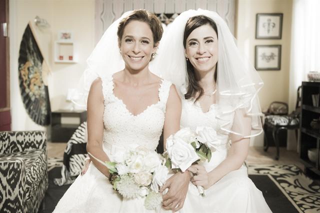 Sueli (Andréa Beltrão) e Fátima (Fernanda Torres) (Foto: Globo/Caiuá Franco)