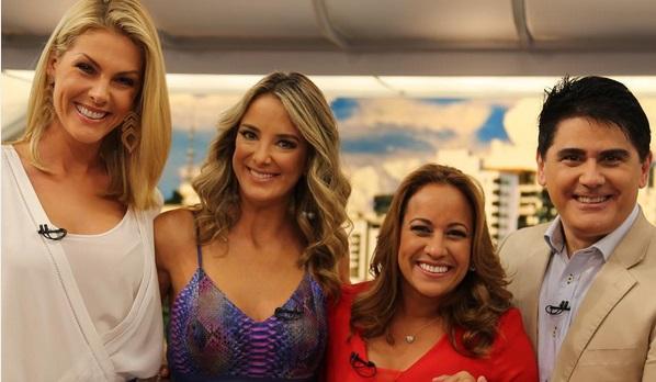 Ana Hickmann, Ticiane Pinheiro, Renata Alves e Cesar Filho (Foto: Reprodução/Instagram)