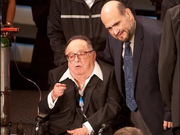 Roberto Goméz Bolaños e Edgar Vivar. (Foto: Divulgação)