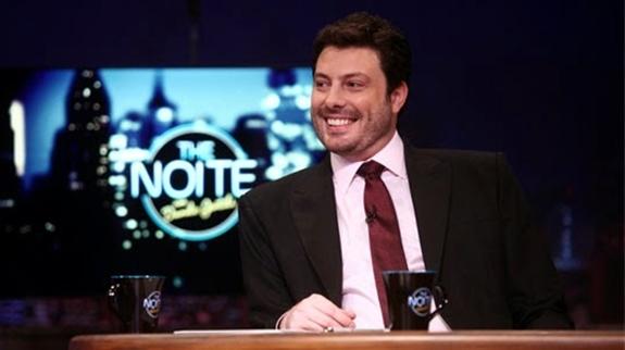 """Danilo Gentili no """"The Noite"""" (Foto: Divulgação)"""