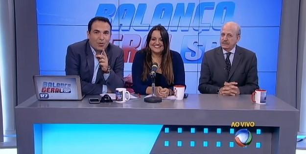 Balanço Geral Especial ficou no quadro Hora da Venenosa (Foto: Reprodução/Record)