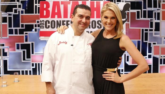 Ana Hickmann é a convidada do sétimo episódio do reality show apresentado por Buddy Valastro (Foto: Divulgação/Record)