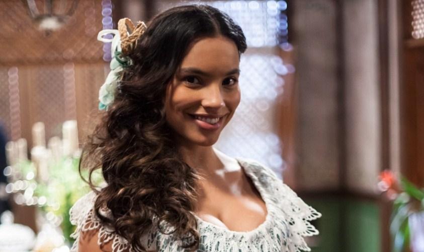 """Gabriela Moreyra, protagonista de """"Escrava Mãe"""" (Foto: Divulgação)"""