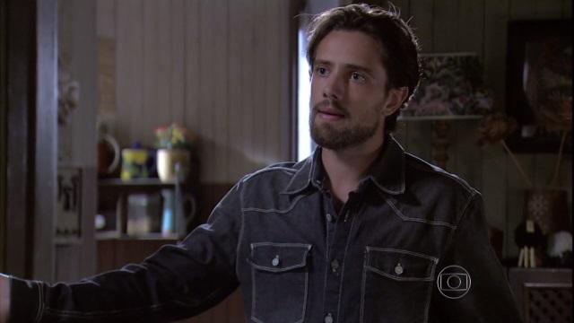"""Felipe (Rafael Cardoso) em cena de """"Além do Tempo"""" (Foto: Reprodução/Globo)"""