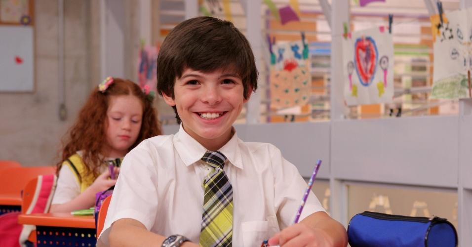 Thomaz Costa como Daniel em Carrossel (Foto: Reprodução)
