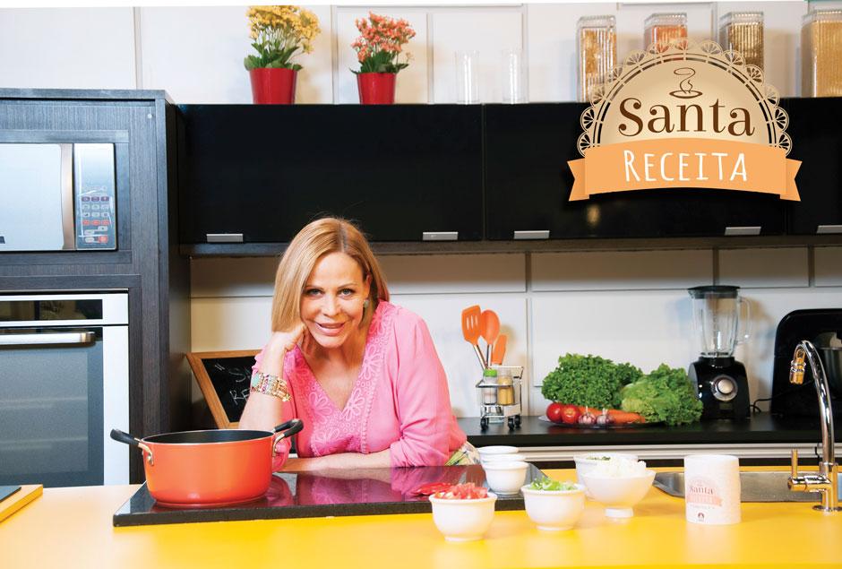 Claudete Troiano comanda um programa de culinária na emissora (Foto: Divulgação)