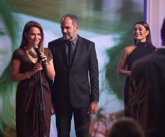 Lili e Germano fazem homenagem à filha Sofia (Foto: Felipe Monteiro / Gshow)