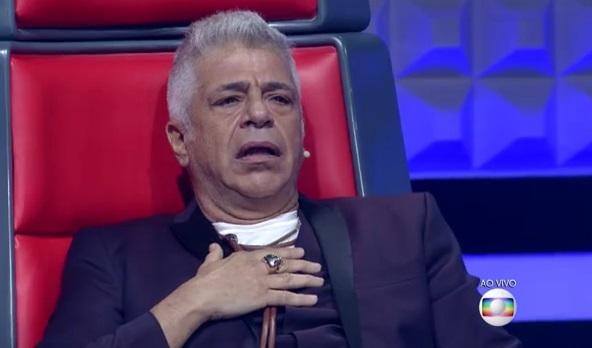 Cantor Lulu Santos deixou público do The Voice Brasil irritado (Foto: Divulgação)