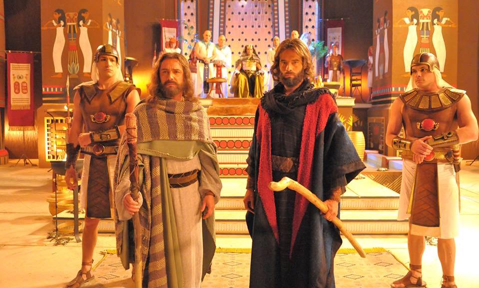 Os Dez Mandamentos vira filme (Foto: Divulgação)