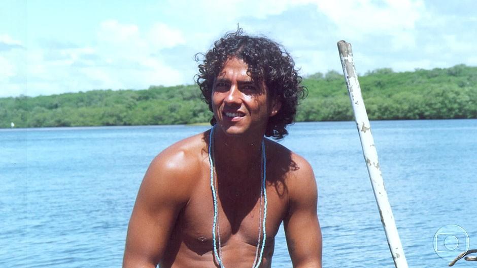 """Marcos Palmeira, protagonista de """"Porto dos Milagres"""", em 2001 (Foto: Divulgação/Globo)"""