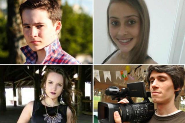 Imagem das vítimas do acidente (Foto: Reprodução)