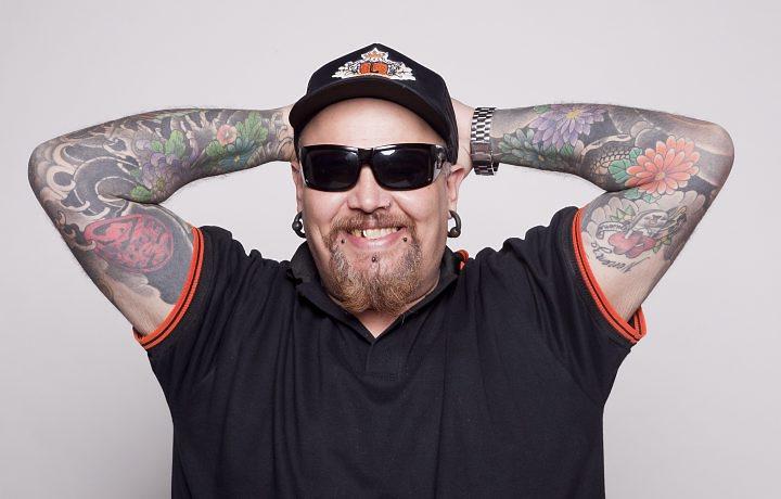 O apresentador da MTV e da Record, João Gordo tem alta da UTI (Foto: Divulgação)