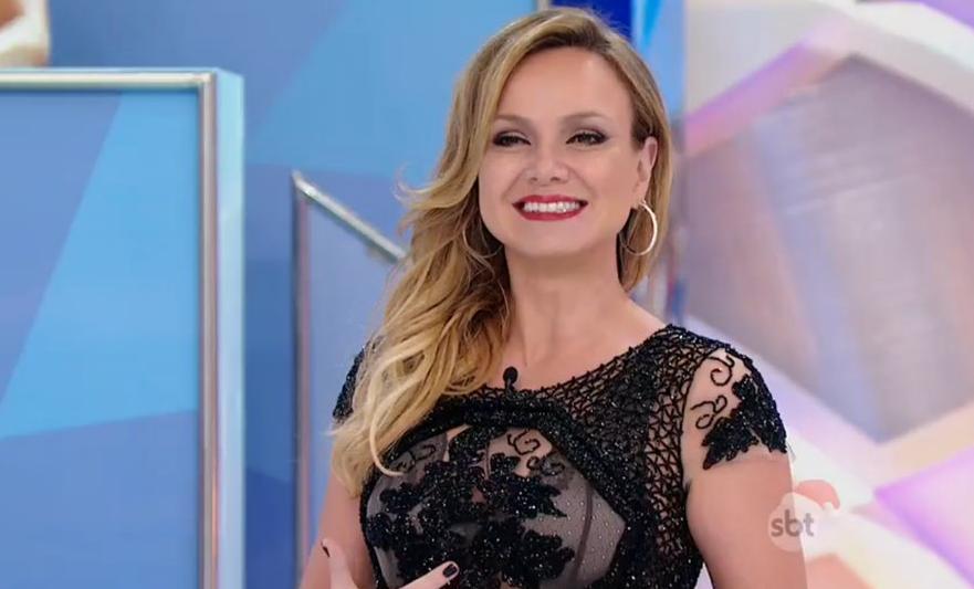 """Eliana levou choques no """"Programa Silvio Santos"""" (Foto reprodução: SBT)"""