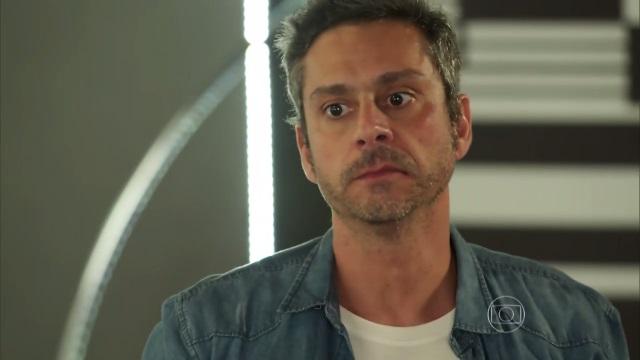 """Romero (Alexandre Nero) em """"A Regra do Jogo"""" (Foto: Reprodução/Globo)"""