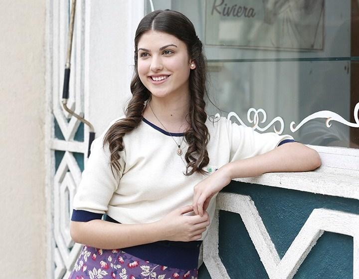 Giovanna Grigio em 'Êta Mundo Bom!' (Foto: Ellen Soares/Gshow)