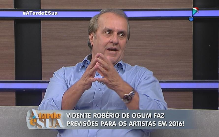 Vidente Robério de Ogum. (Foto: Reprodução/RedeTV)