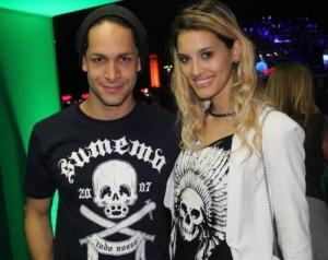 Rainer Cadete e Taianne Raveli (Foto: Rogério Fidalgo/AgNews)