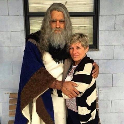 """Moisés (Guilherme Winter) envelhecido para a segunda temporada de """"Os Dez Mandamentos"""" (Foto: Divulgação/Guilherme Winter)"""