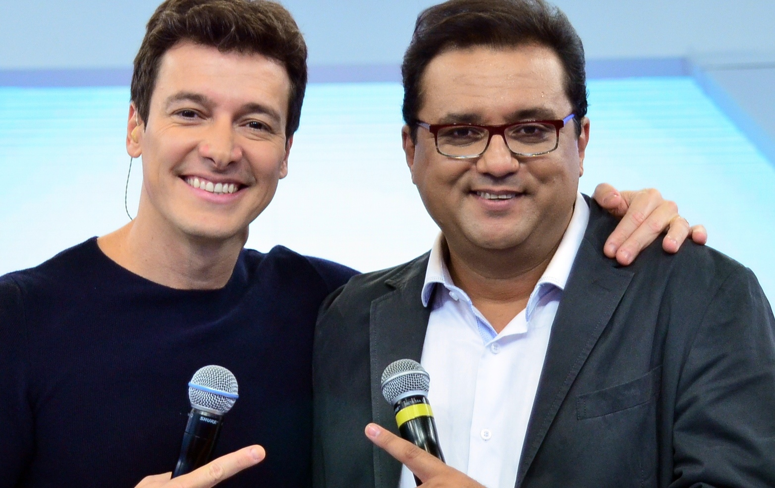 Rodrigo Faro e Geraldo Luís (Foto: Divulgação)