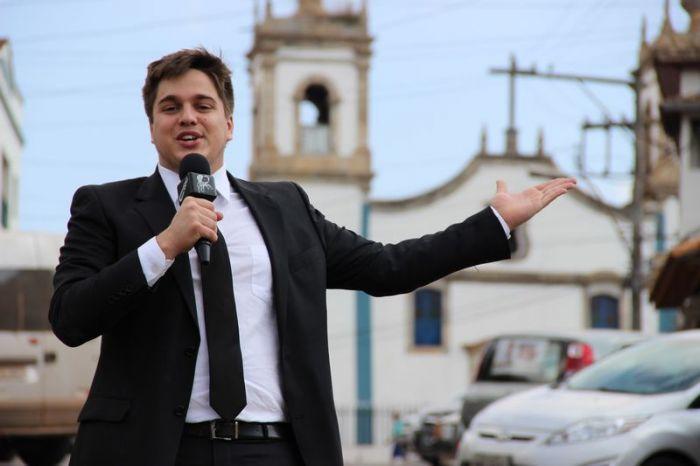 """Lucas Salles era do """"CQC"""" (Foto: Divulgação)"""