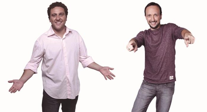 Rafael Massa e Murilo Bordoni (Foto: Divulgação/Rede Massa)