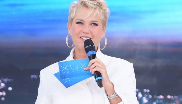 Xuxa durante seu programa na Record (Foto: Divulgação/Record)