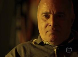 """Zé Maria (Tony Ramos) em cena de """"A Regra d Jogo"""" (Foto: Reprodução/Globo)"""