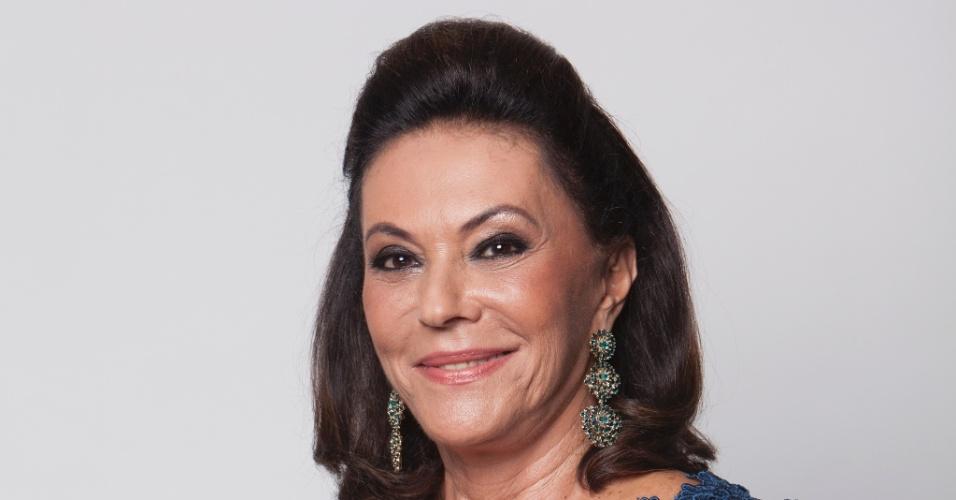Mãe do ex-ator da Record, Luciano, Beth Szafir tem cachê bloqueado pela Justiça por causa de divida de marido morte (Foto: Edu Moraes/Record)