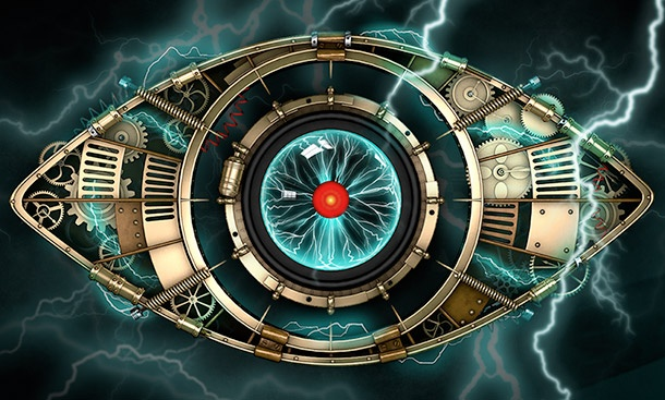 "Logo do ""Celebrity Big Brother UK"" (Foto: Divulgação)"