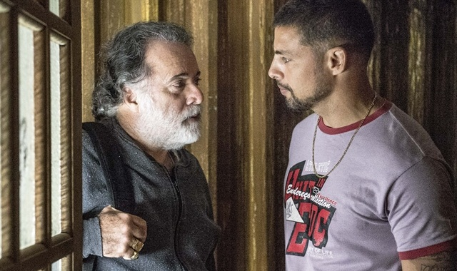 Zé Maria (Tony Ramos) e Juliano (Cauã Reymond) (Foto: Globo/Renato Rocha Miranda)