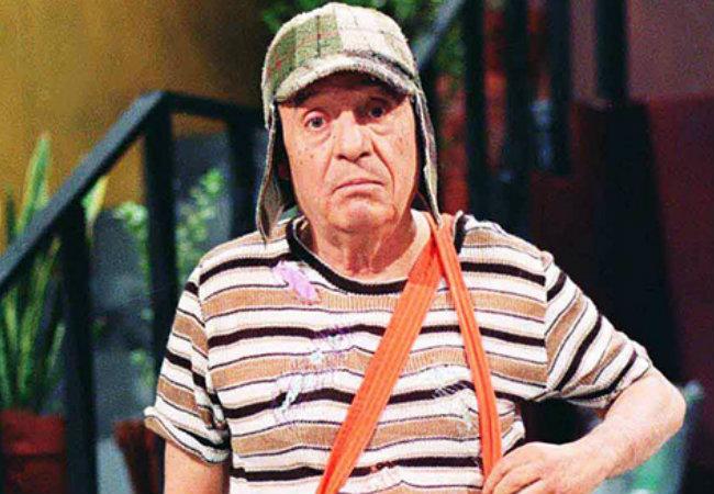 Roberto Bolaños como Chaves. (Foto: Divulgação)