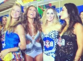 Luana Piovani, Sabrina Sato, Deborah Secco e Juliana Paes (Foto: Reprodução)