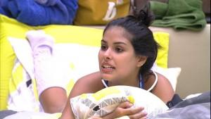 """Munik durante conversa no """"BBB 16"""" (Foto: Reprodução/Globo)"""