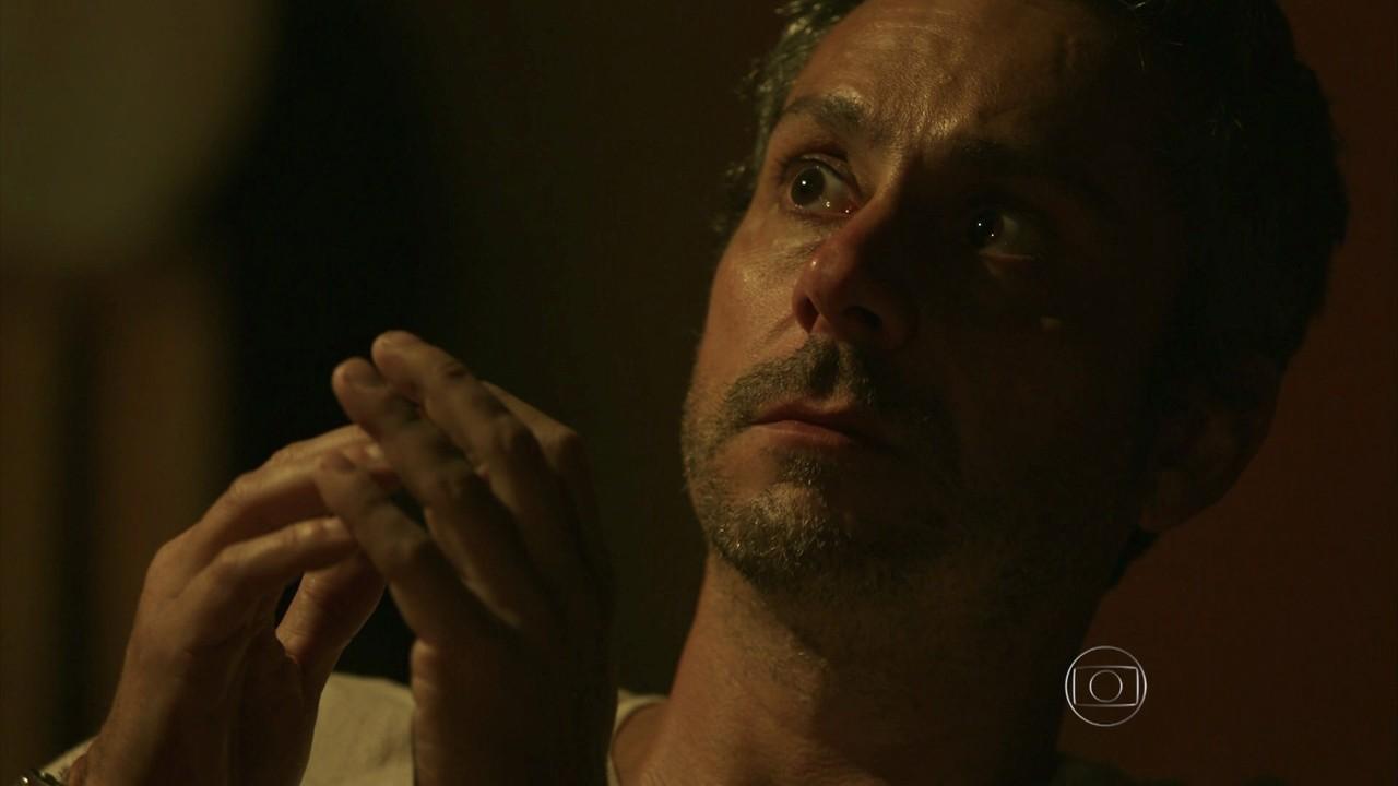 """Romero (Alexandre Nero) em cena de """"A Regra do Jogo"""" (Foto: Reprodução/Globo)"""