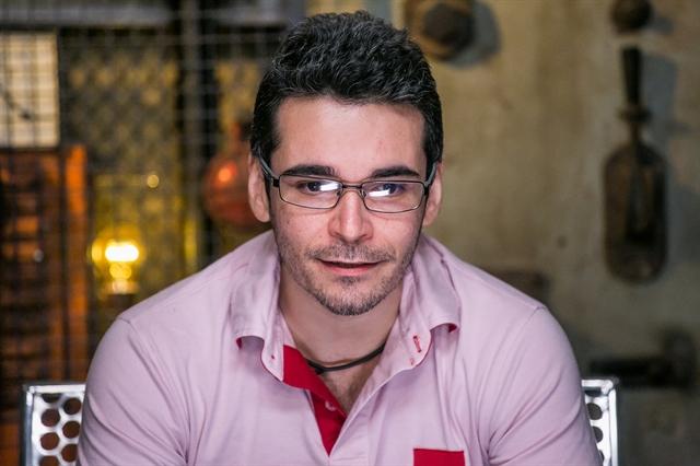 Alan, 34 anos, desiste do 'BBB 16' (Foto: Globo/Paulo Belote)