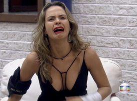 Ana Paula venceu o Paredão do Bem (Foto reprodução)